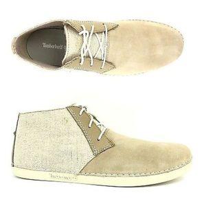 Timberland Men's Bailard Natural Chukka Boots 8.5